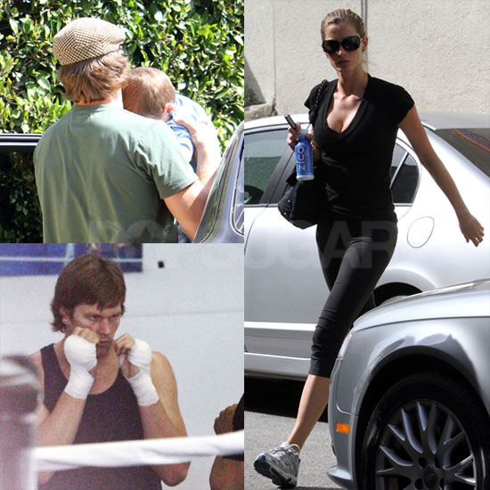 Photos of Tom and Gisele