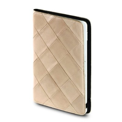 OCTO Quilted Kindle 2 Leather Cover With Hinge ($75)