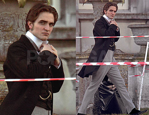 Brand New Robert Pattinson in Costume For Bel Ami Photos — Sexy or Not?