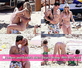 LeAnn Rimes Bikini Photos in Mexico With Shirtless Eddie Cibrian and His Children