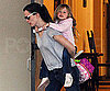Slide Photo of Jennifer Garner and Violet in LA