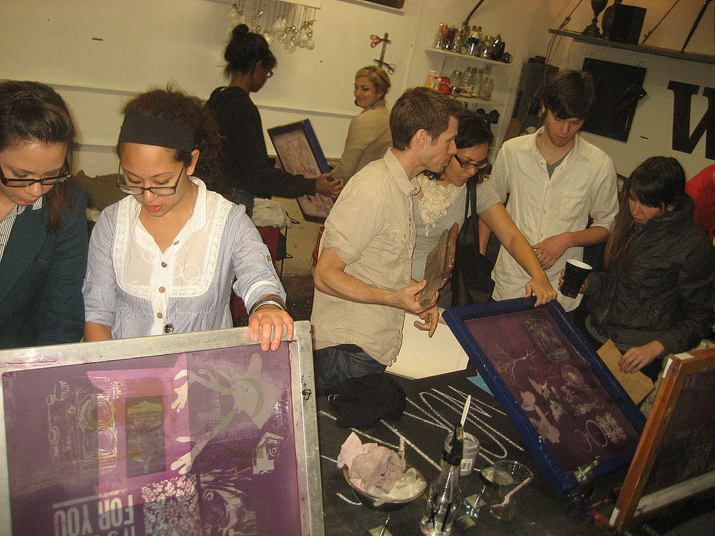 Behind the Seams: An SF Screen-Printing Party