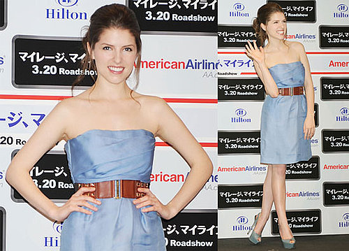 Fotos von Twilights Anna Kendrick beim Werben für Up in the Air in Tokyo, Japan