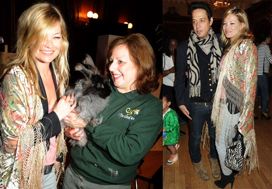Photos of Kate Moss and Jamie Hince at the Stella McCartney Gap Kids Collection Launch in the UK
