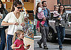Photos of Ben Affleck, Jennifer Garner, Violet Affleck, and Seraphina Affleck Together in LA