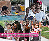 Photos of Nahla Aubry Second Birthday with Halle Berry and Gabriel Aubry