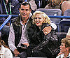 Slide Photo of Gwen Stefani and Gavin Rossdale at Indian Wells Tournament