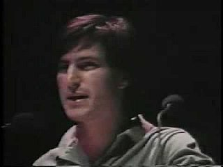 Steve Jobs Debuts Apple's First Macintosh Computer Ad
