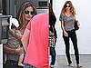 Photos of Gisele Bundchen With Benjamin in LA