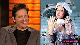 Peter Facinelli Talks About Operating on Chicken on Lopez Tonight