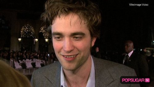 Robert Pattinson Talks About Kristen Stewart's Movie at the Remember Me London Premiere