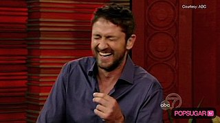 Gerard Butler Talks About Jennifer Aniston on Regis and Kelly