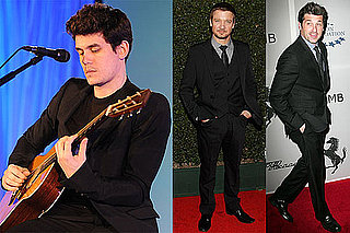 Photos of John Mayer, Patrick Dempsey, and Jeremy Renner at a Haiti Benefit in LA 2010-03-19 12:30:00