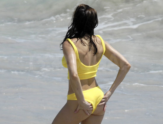 Guess Who&#039;s Wearing a Yellow Bikini?