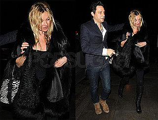 Photos of Kate Moss and Jamie Hince After Partying in London