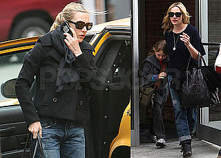 Photos of Kate Winslet With Mia Threapleton in NYC After Announcing Divorce From Sam Mendes