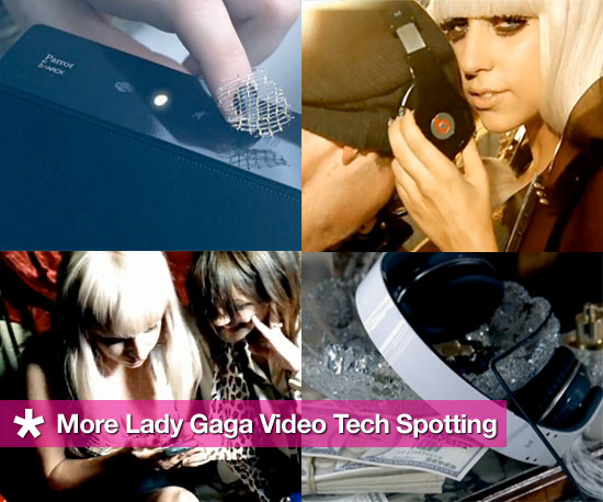 More Lady Gaga Video Techspotting