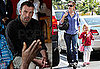 Photos of Jennifer Garner and Violet Affleck in LA, Ben Affleck in Congo