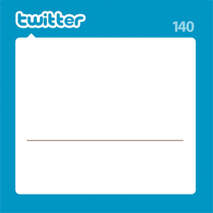 Print Your Own Twitter Notes