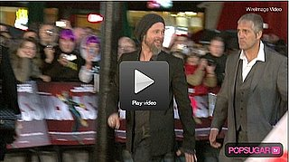 Video: Brad Pitt's Solo Late Night in London