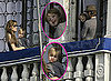 Photos of Knox and Vivienne Jolie-Pitt on a Balcony With Brad and Angelina in Venice