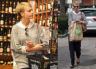 Photos of An Education's Carey Mulligan Shopping For Groceries at Whole Foods in LA