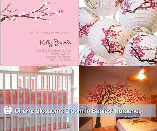 Cherry Blossom Decor for Nurseries