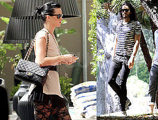 Photos of Katy Perry and Russell Brand Together in LA