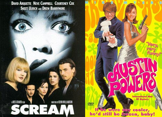 Poll on Which Fourth Movie Installment You Are Looking Forward to the Most — Scream 4 or Austin Powers 4? 2010-03-24 03:03:48