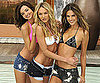 Slide Photo of Miranda Kerr and Alessandra Ambrosio in Bikinis