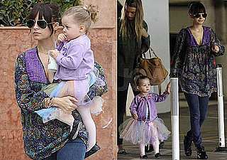 Photos of Nicole Richie Taking Harlow to Dance Class