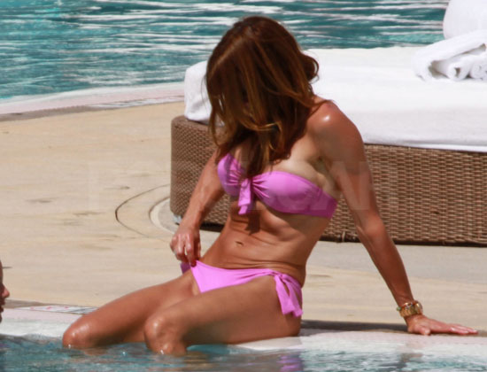 Guess Who's Wearing a Pink Bikini?