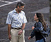 Slide Photo of George Clooney Smiling While Filming The Descendants in Hawaii