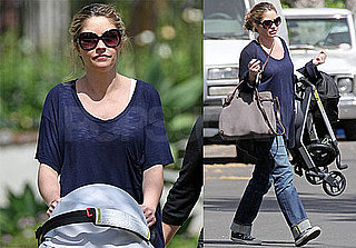 Photos of Rebecca Gayheart Strolling With Baby Billie in Los Angeles