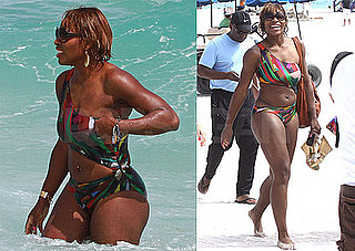 Serena Williams Bikini Photos in Miami Beach