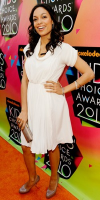 Rosario Dawson at the 2010 Kids Choice Awards
