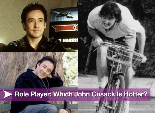 Role Player: Which John Cusack Is Hotter?