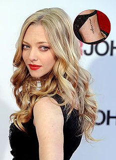 Amanda Seyfried's Foot Tattoo