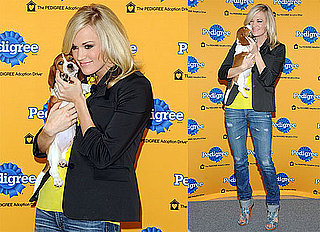 Photos of Carrie Underwood With a Puppy at the 6th Annual Pedigree Adoption Drive in NYC 2010-03-30 17:00:00