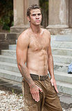 Shirtless Liam Hemsworth
