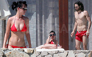 Photos of Katy Perry in a Bikini and Russell Brand Shirtless