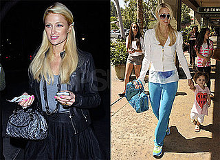 Photos of Paris Hilton Shopping and Partying in Los Angeles
