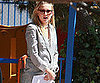 Slide Photo of Kate Hudson in Suit in LA