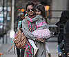 Slide Photo of Katie Holmes and Suri Cruise in New York