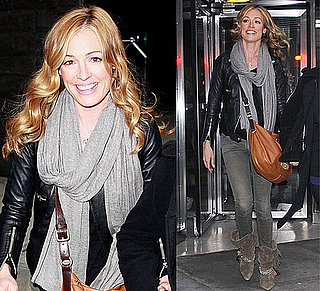 Cat Deeley Wearing Isabel Marant Boots in NYC