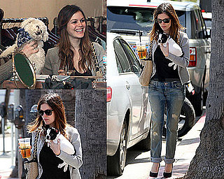 Photos of Rachel Bilson With Her Adorable New Puppy in LA