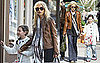 Photos of Rachel Zoe Shopping With Family in LA