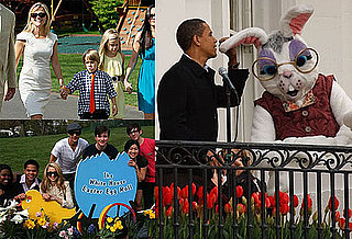 Photos of Reese Witherspoon, Justin Bieber, and the Cast of Glee at the Annual White House Easter Egg Roll With President Obama