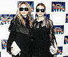 Slide Photo of Mary-Kate  and Ashley Olsen in New York City