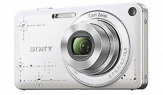 Rhinestone Sony Cyber-Shot DSC-W350D Camera Released in Japan